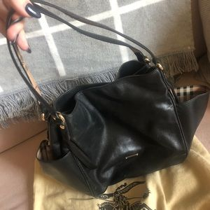 Authentic Burberry Leather Purse